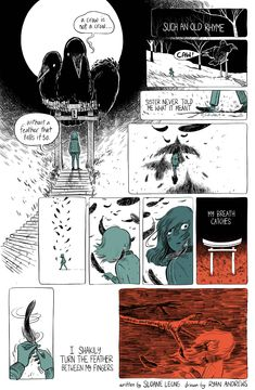 A tiny story, written by Sloane Leong and drawn by Ryan Andrews Comic Style Art, Comic Styles, Comic Art, Character Illustration, Illustration Art, Comic Book Layout, Graphic Novel Art, Comics Story, Comic Panels