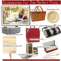 Cool Accessories For The Perfect Picnic