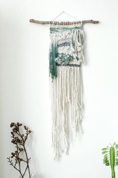 Wall tapestry Woven wall hanging Wall Art Boho Wall by NomaMacrame