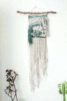 Wall tapestry Woven wall hanging Wall Art Boho Wall by NomaMacrame