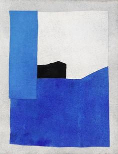 The everyday artist. Contemporary Abstract Art, Modern Artwork, History Of Modern Art, Minimal Art, Art Walk, Italian Art, Blue Art, Art Auction, Decoration