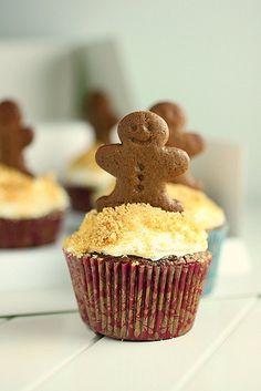 Martha Stewart's Ginger Bread Cupcake