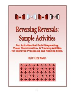 2 activities to help with reversals
