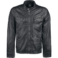 Chester - Lederen jas van Gipsy - Artikelnummer: 239636 - vanaf 179,99 € - Large Popmerchandising