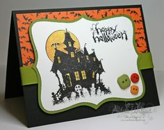 stampin up halloween | Stampin Up! House of Haunts