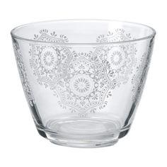 VINTER 2015 Cuenco IKEA Al estar hecho de vidrio templado, este cuenco es duradero y aguanta bien los golpes.