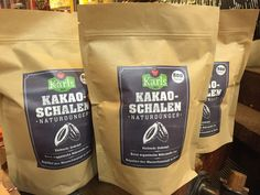 Kakaoschalen - ein guter Bio-Dünger