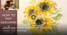[ Level 4 ] How To : Watercolour Painting Tutorial for Beginners / Demonstration / 수채화 그림 그리기 Jay Lee is a specialized watercolor artist. JayArt ...