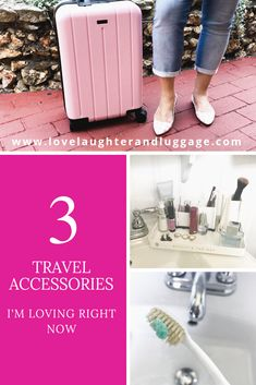 Travel Accessories I'm Loving Right Now - Check out these travel accessories that I love!