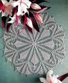 #crochet #pattern #doily