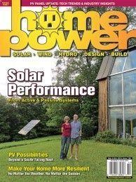 Renewable Energy  Efficiency Technologies   Home Power Magazine #RenewableHomeEnergy