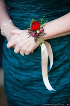 Rose Buds - These Wrist Corsages Will Make You Rethink Bouquets at Your Wedding - Photos