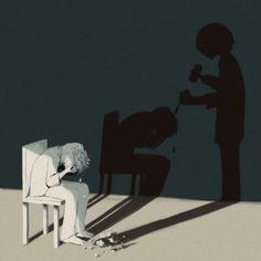 40 ilustraciones creadas por un artista japonés que representan a la perfección la sociedad moderna