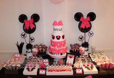 Minnie Mouse Birthday Party Ideas | Photo 27 of 33 | Catch My Party