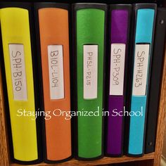Uniquely College: Staying Organized in School