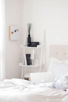 My new bedroom: http://divaaniblogit.fi/charandthecity/2013/09/20/etapaivaa/