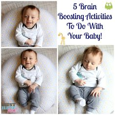 5 Brain Boosting Activities To Do With Your Baby!
