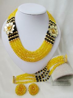 Find More Jewelry Sets Information about luxury nigerian yellow african beads jewelry set Crystal bride jewelry set LM 033,High Quality jewelry mould,China jewelry locations Suppliers, Cheap jewelry training from Chinese jewelry import and export co., LTD on Aliexpress.com