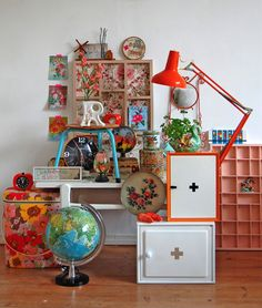 An gorgeous, I want it all collection of retro lovelies