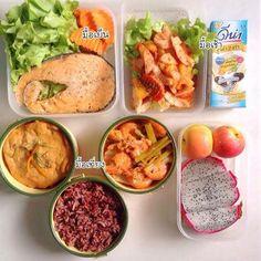 20 เมนูข้าวกล่องแบบคลีน ๆ ภาระกิจนี้เพราะมีแฟน Healthy Menu, Healthy Meal Prep, Healthy Smoothies, Healthy Eating, Clean Recipes, Diet Recipes, Healthy Recipes, Chicken Diet Recipe, Diet Desserts