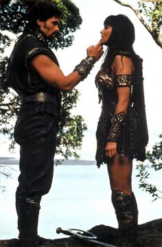 God of War-Ares with the Warrior Princess Xena