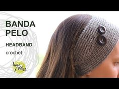 Tutorial Banda Pelo Crochet Fácil - YouTube