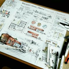 New Design Layout Architecture Projects Ideas Architecture Artists, Architecture Concept Drawings, Architecture Sketchbook, House Architecture, Interior Architecture Drawing, Business Architecture, Architecture Diagrams, Typology Architecture, Maquette Architecture