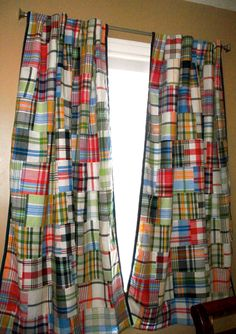 Pottery Barn Madras Curtains Www Myfamilyliving Com