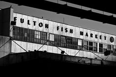 Fulton Fish Market, New York ``
