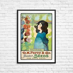 Seed packet seed packet art vintage seed packet by AuntyMaudes