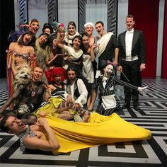 """After our last but one """"Was Ihr Wollt""""!!! Very nice performance!!! It was a joy watching this cast!  #hannover #twelfthnight #wasihrwollt #shakespeare #ballett #ballet #hannoverballet #hannoverballett #dance #dancers #joergmannes"""