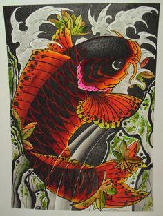 CARPA TATTOO        carpa colorida                               tattoo carpa-     desenhodecarpa-     carpa sombreado-     tattoo ca...
