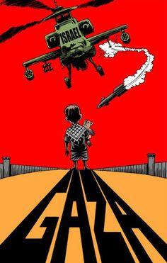 25 vérités sur le siège de Gaza par Israël !!!