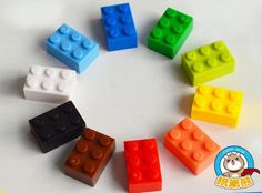 Enlighten Creative DIY High Building Block Toys 2x3 stud multicolor frozen minifigure toys