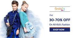 #FirstCry Blockbuster Fashion Sale - 30% - 70% OFF on Kid's Fashion. Catch the offer at https://www.klaimy.com/firstcry-coupons get more offers from #Klaimy