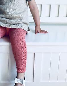 Ravelry: Cornelia Leggings and Knee Socks pattern by Anne Dresow Knitting Short Rows, Knitting For Kids, Baby Knitting Patterns, Knitting Socks, Baby Leggings, Knit Leggings, Baby Pants, Leggings Store, Knitted Baby Cardigan