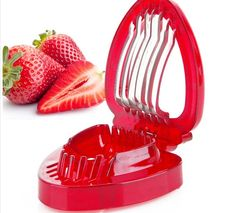 1pcs 2016 strawberries cut fruit knife SIMPLY SLICE STAINLESS STEEL. Type: Fruit & Vegetable ToolsMaterial: PlasticFeature: Eco-FriendlyCertification: CE / EUPlastic Type: PSFruit & Vegetable Tools Type: Shredders & SlicersModel Number: NK05700Brand Name: NoneType: Fruit & Vegetable Tools