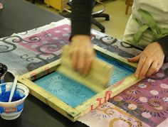 Silk Screen Printing online course