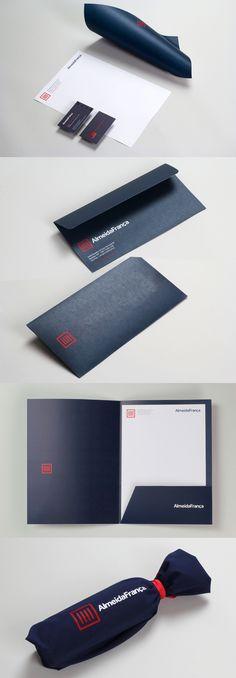 Almeida Franca Branding Stationery #branding #visualidentity #logodesign #stationery #businesscards
