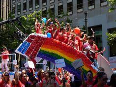 bank of america float, 2013 san francisco pride parade | Flickr - Photo Sharing!