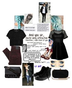 """""""Are you jealous !!?!!!??"""" by clumsycinderella2992 on Polyvore featuring ZALORA, Nobody Denim, Monki, Givenchy and Converse"""