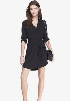 Express Portifino Shirt Dress. Love!