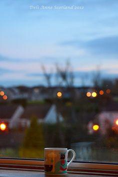 Evening Coffee, Autumn, Scotland 2012 Deli Anne | UtopianCoffee.com