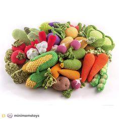 Овощи для игр и интерьера Repost from @minimomstoys:#crochet #vegetables #handmade #ecofriendly #toy #baby #etsy #etsyseller #etsyfinds #fruit #crochetfood #education #nice #cute #birthdaygift #girl #gift #newborn #Minimomstoys #fruit #crochetlove #instacrochet #crocheting #instahandmade #crochetfruit #30weeks #pregnancy #Minimoms #25weeks #amigurumi #handmadelovers by villy_vanilly_shop
