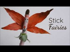 Make these adorable stick fairies using common natural materials from backyard and household craft items you probably already have. So easy!