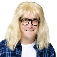 SNL Garth Algar Wig and Glasses Accessory Kit ** Want to know more, click on the image.
