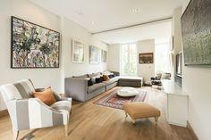 ロンドン・ノッティングヒルの邸宅  ロンドンのノッティングヒルにある邸宅。寝室は5つあり、465万ポンド(約8億7000万円)で売り出し中。