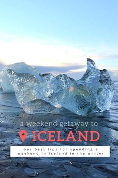 We spent a weekend in Iceland in the winter and loved it! There's something so raw and authentic about a blustery, snow-covered Iceland. Click through now to find out how you can travel to Iceland for just a weekend and how you can do it in the winter!