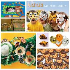safari birthday party, jungle birthday party