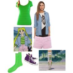 Serena Tsukino Sailor Moon episode 98 inspired outfit